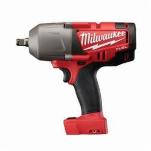 Milwaukee® 2763-20 M18 FUEL™ High Torque Cordless Impact Wrench With Friction Ring, 1/2 in Straight Drive, 450/2300 bpm, 100 ft-lb (Mode 1), 700 ft-lb (Mode 2), 18 VDC, 9 in OAL