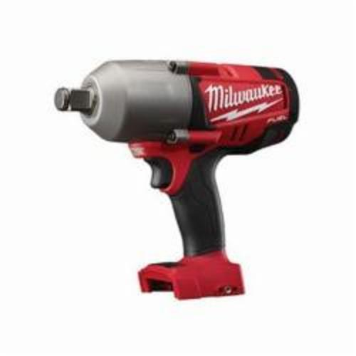 Milwaukee® 2764-20 M18™ FUEL™ High Torque Cordless Impact Wrench With Friction Ring, 3/4 in Square Drive, 1700/2300 bpm, 375 ft-lb (Mode 1), 750 ft-lb (Mode 2) Torque, 18 VDC, 9-1/2 in OAL