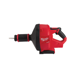 Milwaukee® 2772A-20 M18 FUEL™ Cordless Drain Gun With CABLE-DRIVE™ Locking Feed System, 1-1/4 to 3 in Drain Line, 50 ft Max Run, 18 VDC, Plastic Housing, Tool Only