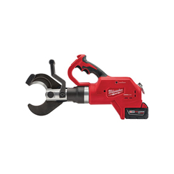 Milwaukee® 2776-21 M18™ FORCE LOGIC™ Cordless Cable Cutter Kit, Up to 1500 MCM Cutting, 18 VDC, 5 Ah Lithium-Ion Battery