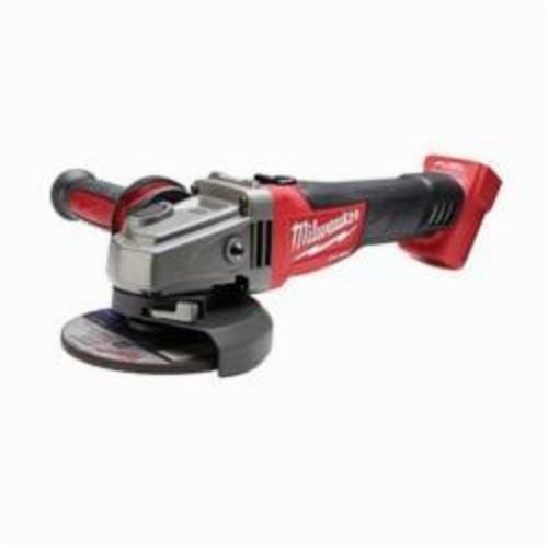Milwaukee® 2781-20 M18™ FUEL™ Cordless Angle Grinder, 5 in Dia Wheel, 5/8-11 Arbor/Shank, 18 VDC, Lithium-Ion Battery, Slide With Lock-ON Switch