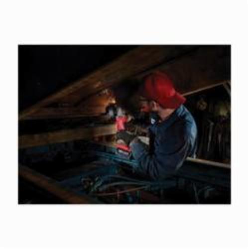 Milwaukee® 2783-22 M18™ FUEL™ Cordless Angle Braking Grinder Kit, 5 in Dia Wheel, 5/8-11 Arbor/Shank, 18 VDC, REDLITHIUM™ Battery, 2 Batteries, Paddle No-Lock Switch
