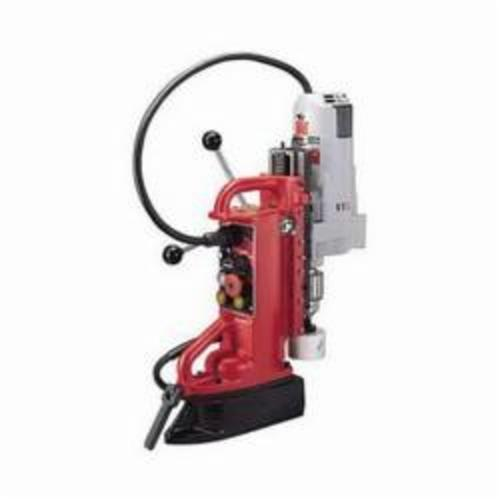 Milwaukee® 4206-1 Adjustable Position Heavy Duty Electromagnetic Drill Press, 3/4 in Chuck, 2 hp, 4-11/16 in Drill to Center From Base, 350 rpm Spindle, 120 VAC
