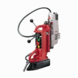 Milwaukee® 4209-1 Adjustable Position Heavy Duty Electromagnetic Drill Press, 1-1/4 in Chuck, 2 hp, 5-3/32 in Drill to Center From Base, 750/375 rpm Spindle Speed, 120 VAC