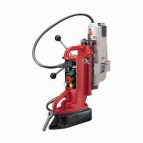 Milwaukee® 4208-1 Adjustable Position Heavy Duty Electromagnetic Drill Press, 1-1/4 in Chuck, 2 hp, 4-3/8 in Drill to Center From Base, 250/500 rpm Spindle, 120 VAC