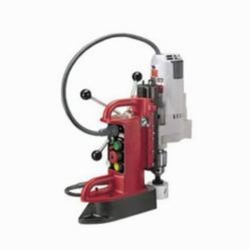 Milwaukee® 4210-1 Fixed Position Electromagnetic Drill Press, 3/4 in Chuck, 2 hp, 5-3/32 in Drill to Center From Base, 350 rpm Spindle Speed, 120 VAC