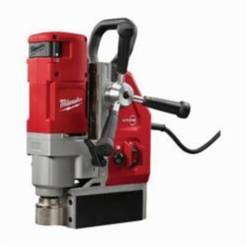 Milwaukee® 4272-21 Compact Electromagnetic Drill Kit With Case, 3/4 in Chuck, 2.3 hp, 1-1/4 in Drill to Center From Base, 475/730 rpm Spindle Speed, 120 VAC