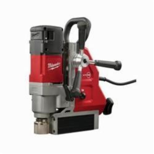 Milwaukee® 4274-21 Permanent Magnetic Drill Kit With Case, 3/4 in Chuck, 2.3 hp, 1-1/4 in Drill to Center From Base, 475/730 rpm Spindle Speed, 120 VAC