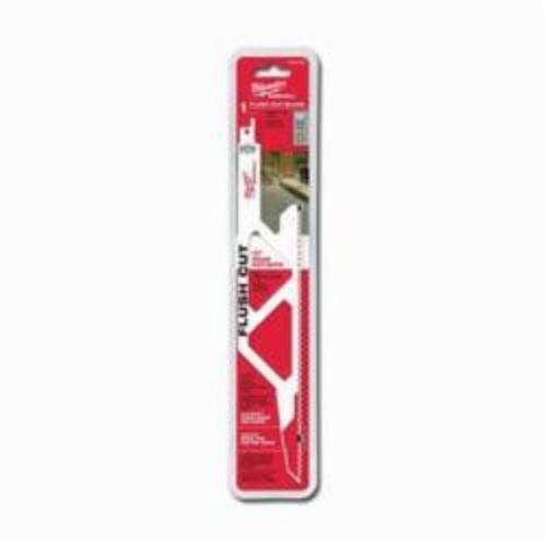 Milwaukee® SAWZALL™ 48-00-1600 Multi-Purpose Tapered Flush Cut Saw Blade, 12 in OAL, 5, Bi-Metal