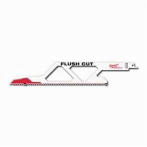 Milwaukee® 48-00-1600 Sawzall® Multi-Purpose Tapered Flush Cut Saw Blade, 12 in OAL, 5, Bi-Metal