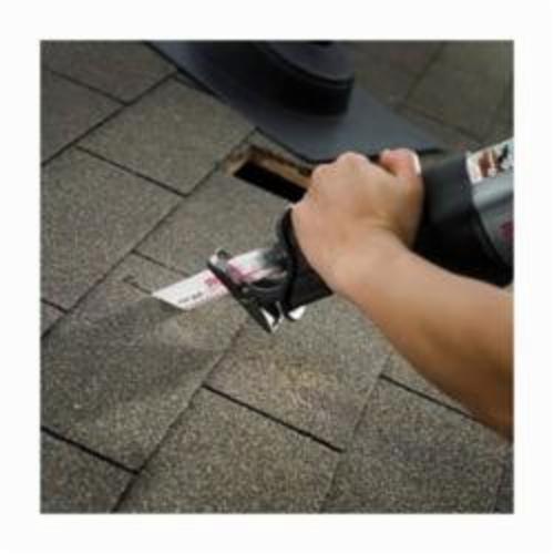 Milwaukee® SAWZALL™ 48-01-7027 Demo Profile Reciprocating Saw Blade, 12 in L x 1 in W, 5, Bi-Metal Body, Toothed Edge/Universal Tang