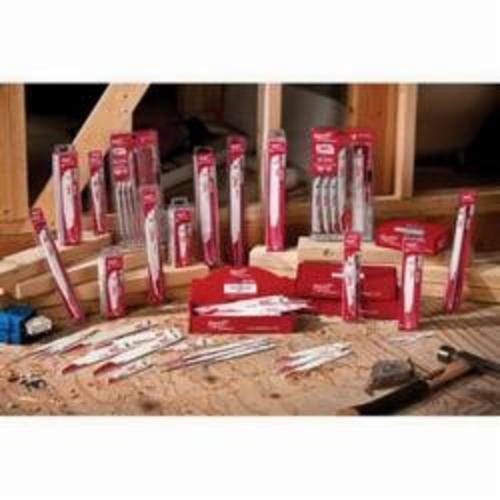 Milwaukee® 48-01-2036 Sawzall® Thin Kerf Reciprocating Saw Blade, 9 in L x 3/4 in W, 5, Bi-Metal Body, Universal Tang