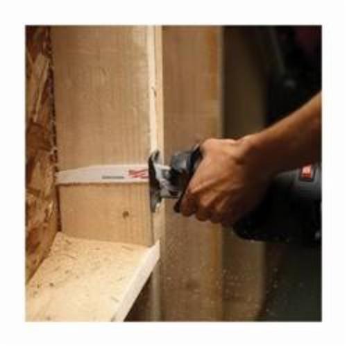 Milwaukee® SAWZALL™ 48-01-2711 Reciprocating Saw Blade, 12 in L x 1 in W, 7/11, Bi-Metal Body, Toothed Edge/Universal Tang