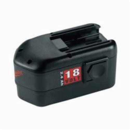 Milwaukee® 48-11-2230 V18™ Rechargeable Slide on Style Cordless Battery Pack, 2.4 Ah NiCd Battery, 18 VDC, For Use With Milwaukee® V18™ Cordless Power Tool and 18 VDC NiCd