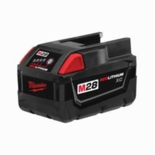 Milwaukee® 48-11-2830 M28™ Rechargeable Cordless Battery Pack, 3 Ah Lithium-Ion Battery, 28 VDC, For Use With Milwaukee® M28™ and V28™ Cordless Power Tool