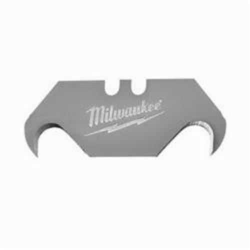 Milwaukee® 48-22-1933 5-Piece Utility Knife Blade, Micro Carbide Metal, Sharp Point/Straight Edge, 2-3/8 in L x 3/4 in W Blade, Compatible With: Milwaukee® Most Standard Utility Knives, 0.025 in THK