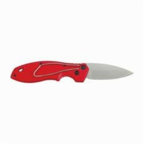 Milwaukee® 48-22-1990 Fastback™ Liner Lock Smooth Folding Pocket Knife, 3 in L Blade, Drop Point Stainless Steel Blade, Fine Edge