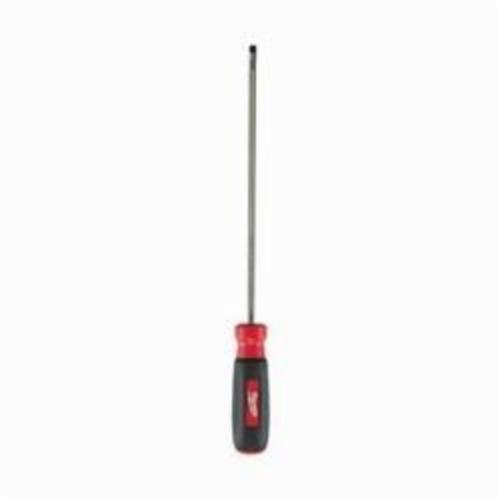 Milwaukee® 48-22-2033 Screwdriver, 3/16 in Cabinet Point, Steel Shank, 12 in OAL, Rubber Handle, Polished Chrome