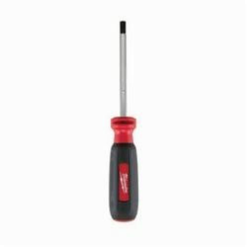 Milwaukee® 48-22-2041 Screwdriver, #1 ECX™ Point, Steel Shank, Rubber Handle, Polished Chrome