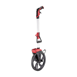 Milwaukee® 48-22-5012 Measuring Wheel, 0 to 9999 ft, 12 in Dia, Ergonomic Handle, 23 in OAL