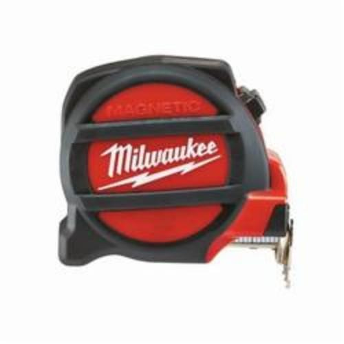 Milwaukee® 48-22-5116 Magnetic Tape Measure, 16 ft L x 1 in W Blade, Steel, SAE