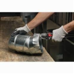 Milwaukee® 48-22-6001 Metal Crimper, 22 ga Cold Rolled Steel/24 ga Stainless Steel Metal Gauge, Graduations 1/4 in