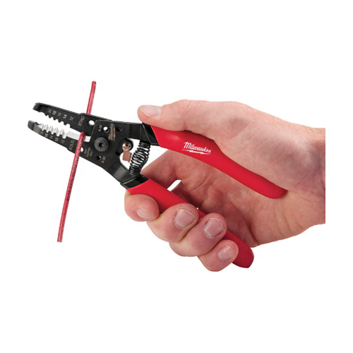 Milwaukee® 48-22-6109 General Purpose Wire Stripper/Cutter, 20 to 12 AWG Solid/Stranded