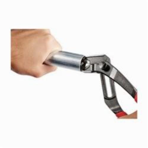 Milwaukee® 48-22-6208 Gen II 16-Position Quick Adjust Hex Jaw Plier, 1-3/4 in Nominal, 1-1/4 in L x 1/4 in W Alloy Steel V-Shape Jaw, 8 in OAL
