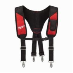 Milwaukee® 48-22-8145 Padded Rig, 1 Pocket, Denier Ballistic Nylon, Black/Red