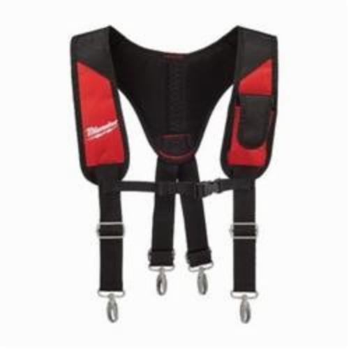Milwaukee® 48-22-8145 Padded Rig, 1 Pocket, Denier Ballistic Nylon, Red/Black