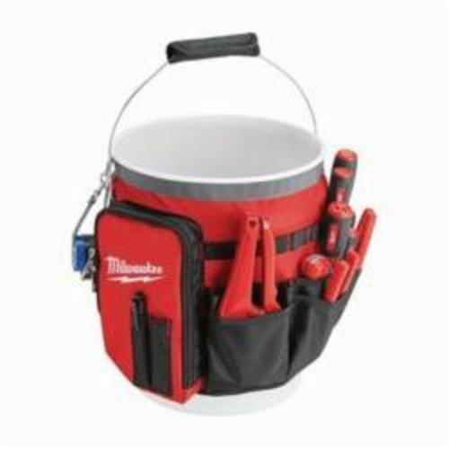 Milwaukee® 48-22-8175 Bucket Organizer Wrap, 13.39 in H x 2.17 in W x 10.04 in D, 34 Pockets, Ballistic Base/Canvas