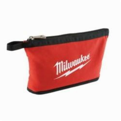 Milwaukee® 48-22-8180 Heavy Duty Zipper Pouch, #10 Canvas, Red