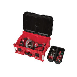 Milwaukee® PACKOUT™ 48-22-8425 Waterproof Large Tool Box, 11.3 in H x 16.1 in W x 22.1 in D
