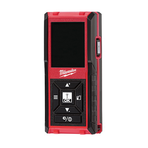 Milwaukee® 48-22-9802 Laser Distance Meter, +/-1/16 in Accuracy, Digital Display