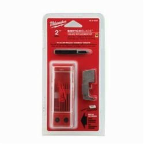 Milwaukee® 48-25-5235 SwitchBlade™ 7-Piece Blade Replacement Kit, For Use With SwitchBlade™ 2 in Self-Feed Drill Bit