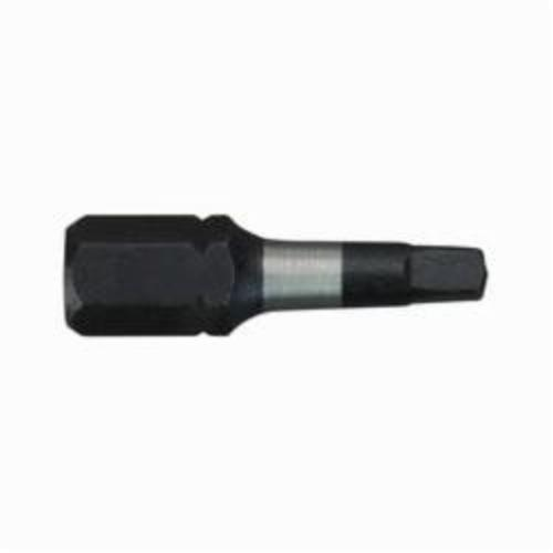 Milwaukee® 48-32-4117 Shockwave™ Impact Driver Bit, #8 Slotted Point, 1 in OAL, 1/4 in, Custom Alloy76™ Steel