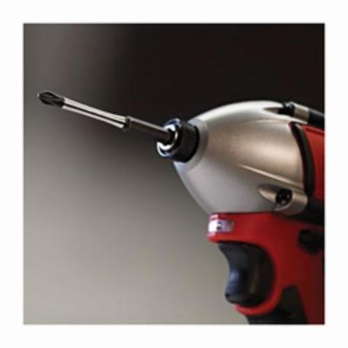 Milwaukee® 48-32-4159 SHOCKWAVE™ Impact Duty™ Impact Power Bit, 9/32 in Slotted Point, 2 in OAL, 9/32 in, Custom Alloy76™ Steel