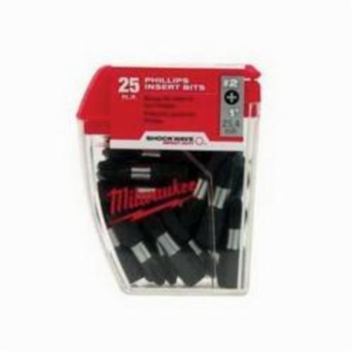 Milwaukee® 48-32-5004 Shockwave™ Impact Power Bit, #2 Phillips® Point, 2 in OAL