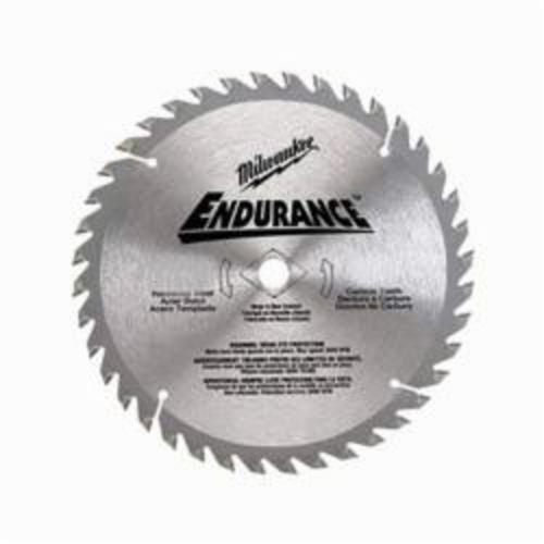 Milwaukee® 48-40-4116 Thin Kerf Circular Saw Blade With Diamond Knockout, 7-1/4 in Dia x 0.047 in THK, 5/8 in Arbor, Alloy Steel Blade, 16 Teeth