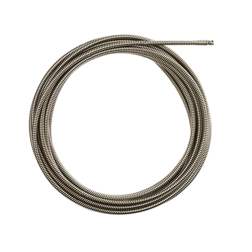 Milwaukee® 48-53-2775 Open Wind Coupling Drain Cleaning Cable, 5/8 in, Steel, For Use With Drain Cleaning Machines, 1-1/4 to 2-1/2 in Drain Line