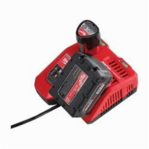Milwaukee® 48-59-1808 M12™/M18™ Rapid Charger, For Use With M12™ and M18™ Battery, Lithium-Ion Battery, 1 Battery