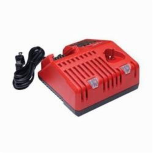 Milwaukee® 48-59-1812 M12™ Slide Multi-Voltage Charger, For Use With Milwaukee® M12™ 48-11-2401, 48-11-2401 and M18™ 48-11-1815, 48-11-1828 Battery Pack, Lithium-Ion Battery, 1 hr Charging Time