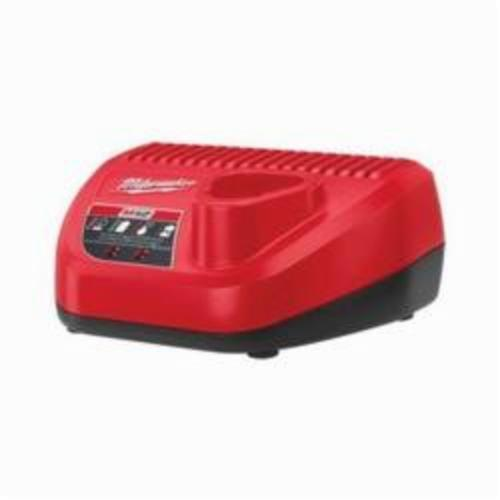 Milwaukee® 48-59-2401 Battery Charger, For Use With M12™ Battery, Lithium-Ion Battery, 1 hr Charging, 1 Batteries
