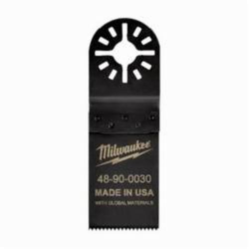 Milwaukee® 48-90-0030 Multi-Tool Blade, For Use With Oscillating Tool, 1-1/4 in Dia Cutting, High Carbon Steel