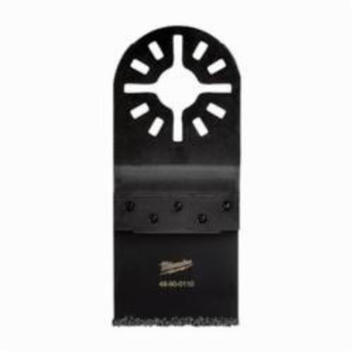 Milwaukee® 48-90-0110 Multi-Tool Blade, For Use With Oscillating Tool, 1-1/4 in Dia Cutting, Metal/Carbide