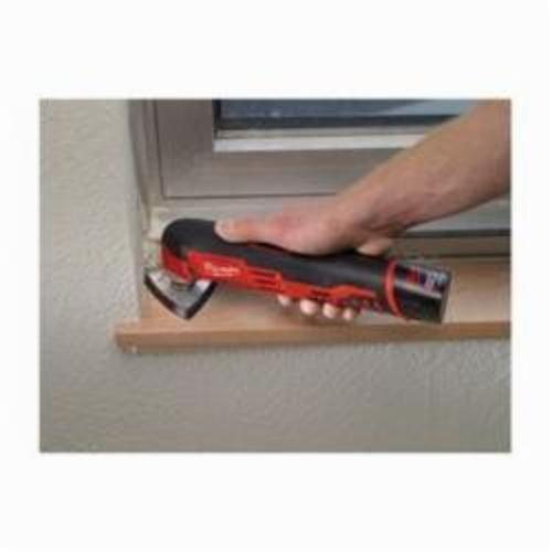 Milwaukee® 48-90-2000 Multi-Tool Replacement Sanding Pad, For Use With M12™ or M18™ Multi-Tool, 6-Hole, 3-1/2 in L x 3-1/2 in W x 3/8 in T, Steel