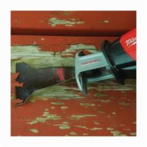 Milwaukee® SAWZALL™ 49-00-5456 Reciprocating Scraper Blade, 5-1/2 in L x 3 in W