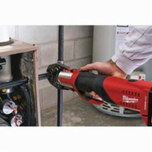 Milwaukee® 49-16-2697 M18™ Press Kit, For Use With FORCE LOGIC™ Press Tool, 1/2 to 2 in Jaw Capacity, Black Iron