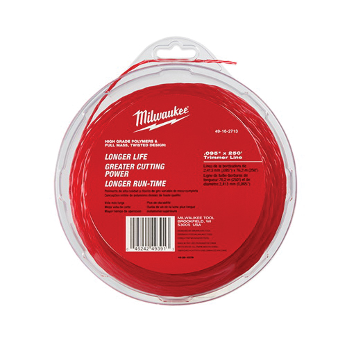 Milwaukee® 49-16-2713 Trimmer Line, For Use With M18™ FUEL™ 2725-20 String Trimmer