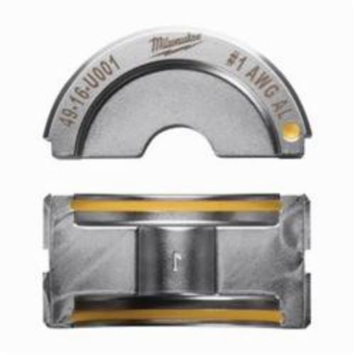 Milwaukee® M18™ 49-16-U001 FORCE LOGIC™ U-Style Crimping Tool Die, 1 AWG Dual Rated Lug/Splice Cable, Aluminum